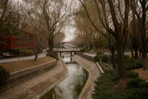 Forbidden City garden China by NickyLarson