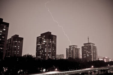 Thunder in Beijing by NickyLarson