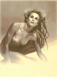 Dea'dra - Sorrow Pose II by Angellese