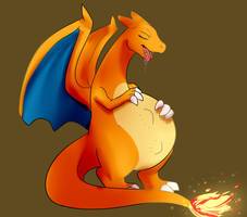 Commish: charizard Vore by BaconBloodFire