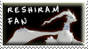 Reshiram Fan Stamp by Fastmon