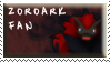 Zoroark Fan Stamp by Fastmon