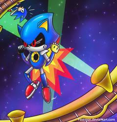 Sonic CD: Metallic Challenge by Fastmon