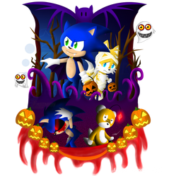 [Halloween 2014] Sonic Spooks! by Fastmon
