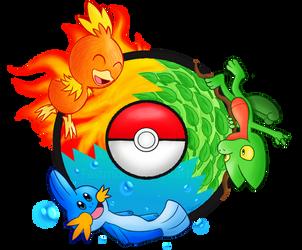 Pokemon ORAS - [Elemental Starters] by Fastmon