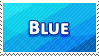 Blue Colour Stamp by Fastmon