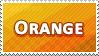 Orange Colour Stamp by Fastmon