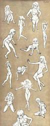 Poses by li-jean