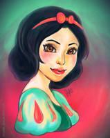 Snow White by li-jean