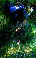 Neytiri's hunt on Jake Sully by SwizavTxur-itan