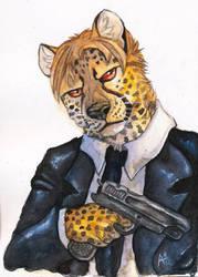 'Felix' The Cat by raptorzs