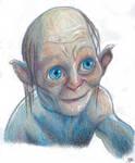 Gollum by Khrestos