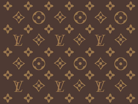 Luis Vuitton - Wallpaper by twinware
