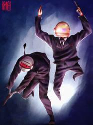 Daft Punk by RaynerAlencar