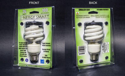 Lightbulb Package Design by streetbaling247