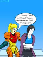 Meanwhile at the Rule 34 Crisis Center... by Cidolfus-A-Trahan