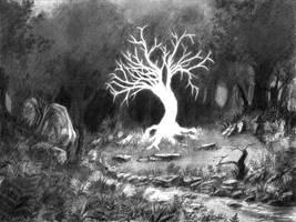 Sacred Forest - Heart - Serbian Mythology IV by Daandric