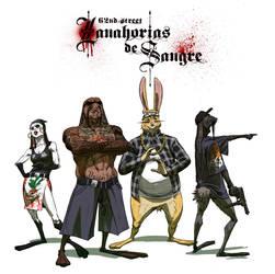 Coon Cop - Zanahorias de Sangre by Daandric