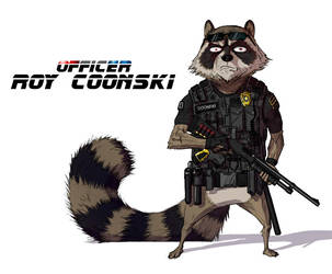 Coon Cop - Sergeant Roy Coonski by Daandric