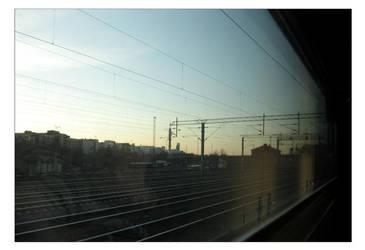Night train to Kolari II by liinu