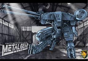 Metal Gear Rex by BongzBerry
