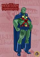 The Martian Manhunter by BongzBerry