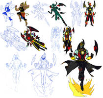 Character Design: Gatotkaca by BongzBerry