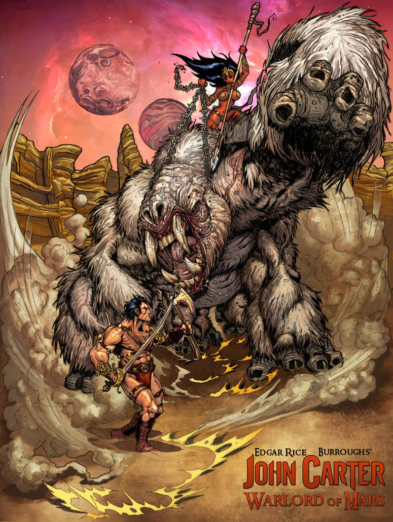 John Carter Warlord Of Mars by BongzBerry