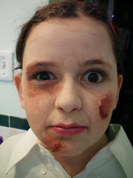 Gore Makeup Practice By Emmers591 On Deviantart - Gore-makeup