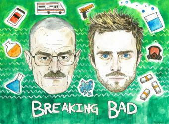Breaking Bad by lawlosaur