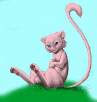 realistic mew by gul-munthos