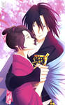 Hijikata y Chizuru, juntos otra vez by LadyYomi