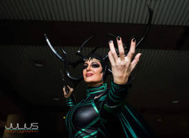 Hela The Goddess of Death by captainjaze