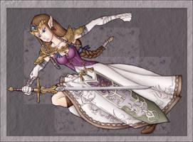:+Princess Zelda - Collab 2+: by Lady-Zelda-of-Hyrule