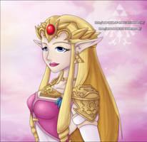 ZPP: Princess Zelda by Lady-Zelda-of-Hyrule
