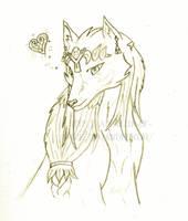 Wolf Zelda by Lady-Zelda-of-Hyrule