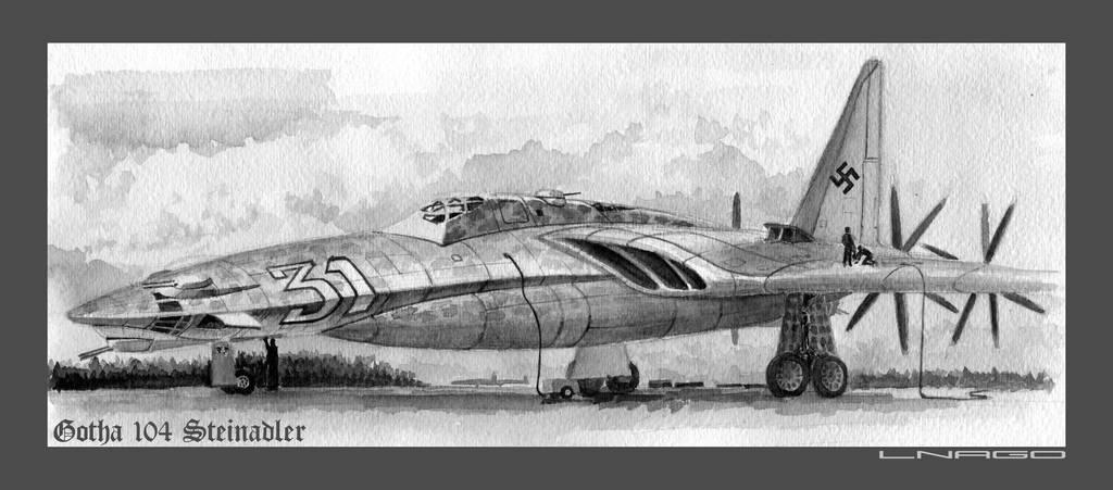 Gotha 104 2 4 By Lnago