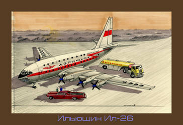 Ilyushin Il-26 by lnago