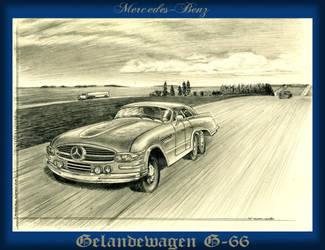 Mercedes Benz Gelandewagen G-66 by lnago