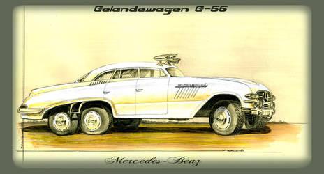 Mercedes Benz Gelandewagen G-66 in Africa by lnago