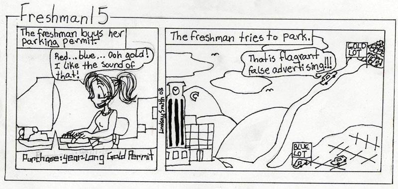 False Advertising by Freshman15