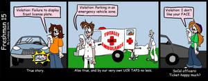 Parking Violations by Freshman15