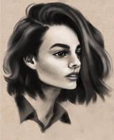 Weekly Sketch #7 by MaggieParvanova