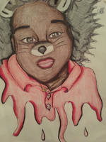 Colored Me sketch flitter  by camcam2656
