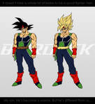Bardock. :Sketch+PSGraphics: by moxie2D
