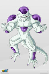 Frieza. :Commission: by moxie2D
