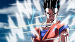 Mystic Gohan Powers Up: DBKai by moxie2D