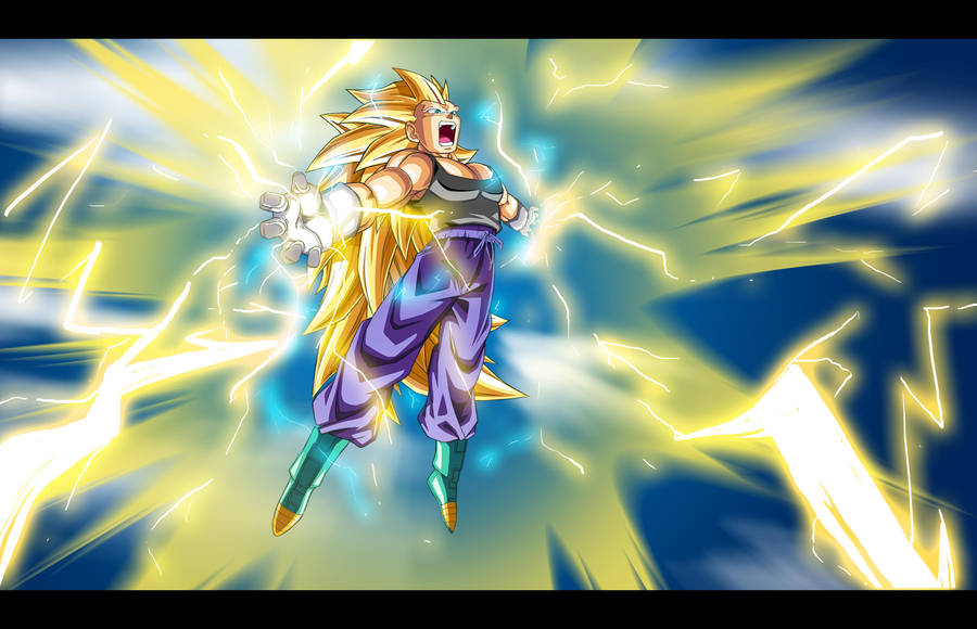 SSj3 Vegeta: True Final Flash by moxie2D