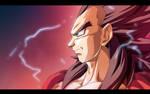 Super Saiyan 4 Vegeta by moxie2D