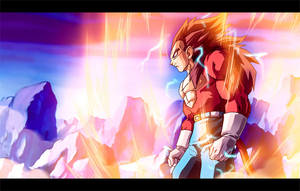 SSj4 Vegeta :Colour Commish: by moxie2D